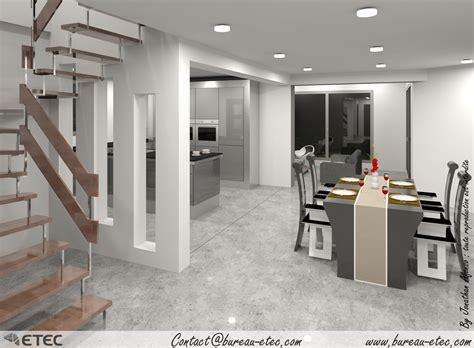 plan maison à étage 4 chambres maison toit terrasse dijon talant etec