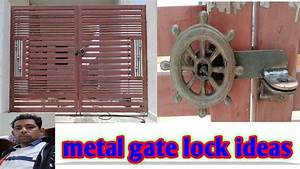 How To Lock Installation For Manual Gate India
