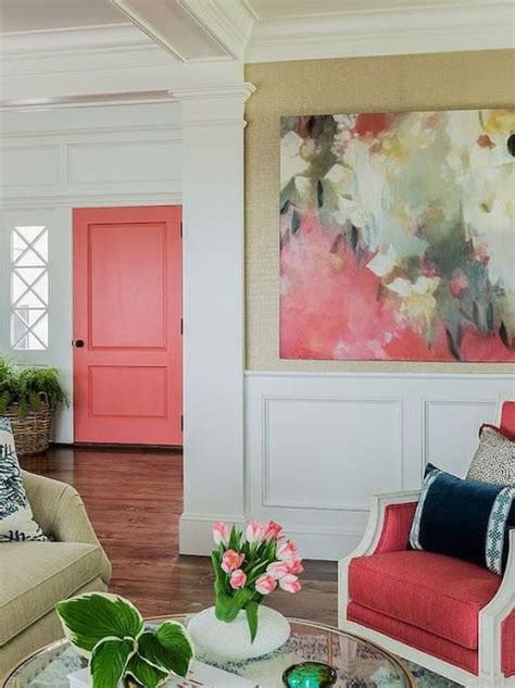 coral color decor 25 best ideas about coral door on coral color