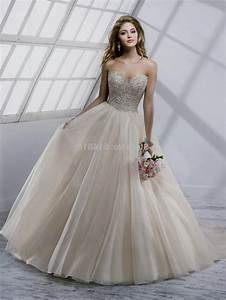 Tan wedding dress gown and dress gallery for Tan dresses for wedding