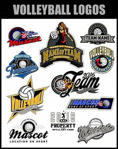 volleyball logos With volleyball logo design templates