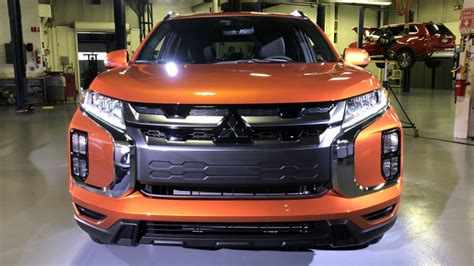 2020 Mitsubishi Outlander Sport by 2020 Mitsubishi Outlander Sport Revealed In America Drops