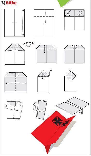 comment faire un avion en papier comment faire des avions en papier 12 plans