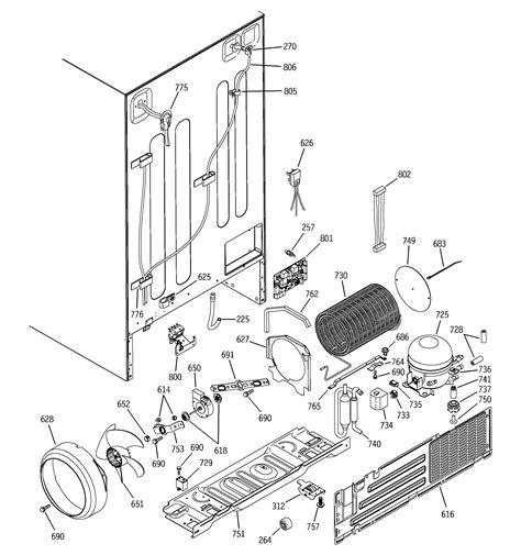 ge psisgnafbs side  side refrigerator parts sears partsdirect
