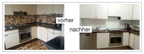 Fliesenfolie Küche Vorher Nachher by K 252 Che Vorher Nachher Bilder