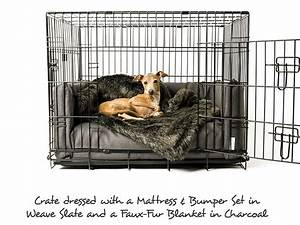 luxury dog bed mattress bed bumper set charley chau With dog crate bumper set