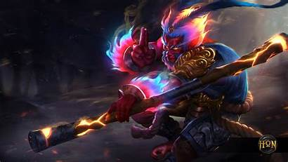 Monkey King Wallpapers Background Heroes Newerth Backgrounds