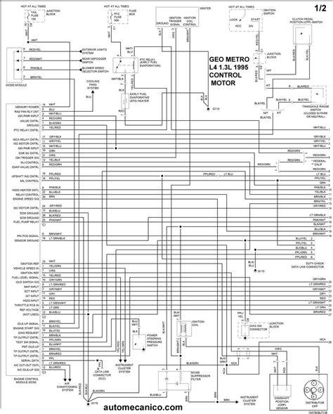 Geo Tracker Engine Diagram Wiring Images