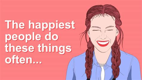 habits  people    happy