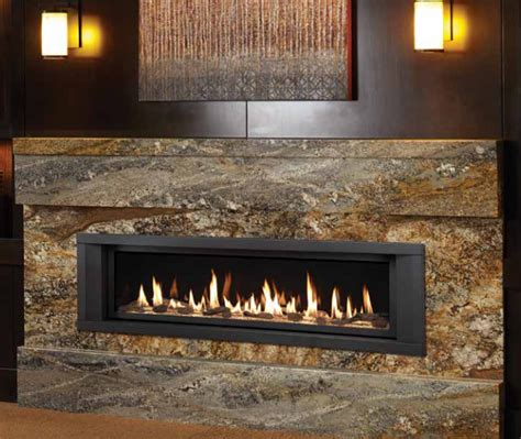linear gas fireplace linear gas fireplaces georgetown fireplace and patio