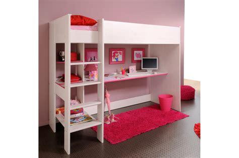 lit avec bureau intégré lit mezzanine et bureau intégré trendymobilier com