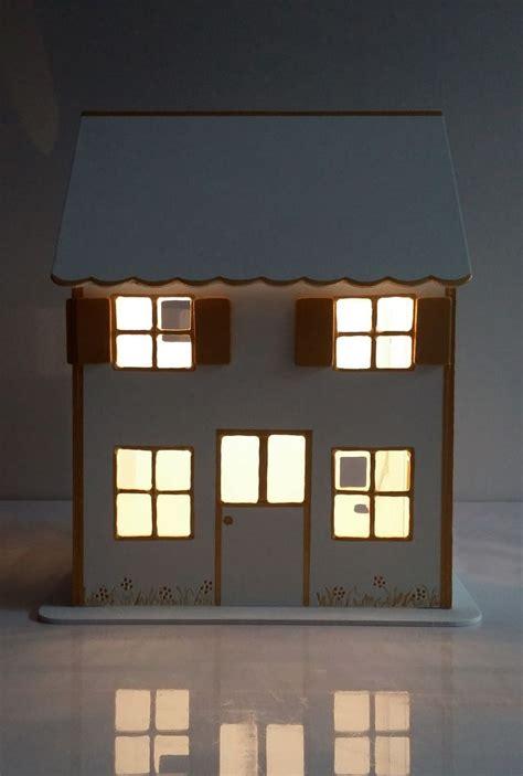 led pour chambre maisonnette veilleuse en bois pour chambre d 39 enfant