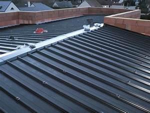 Plans 3D Livraison et pose des panneaux sandwich pour la toiture Etanchéité d'une toiture