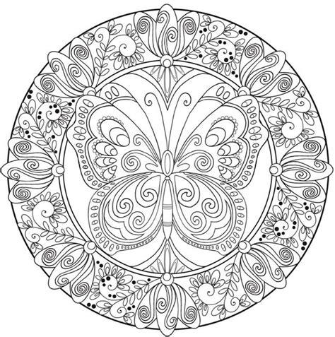 mandalas  mariposas significado  disenos