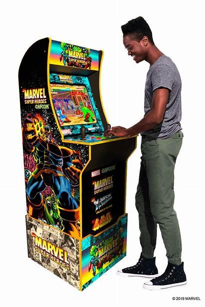 Cabinet Arcade Marvel Super Heroes Edition Arcade1up