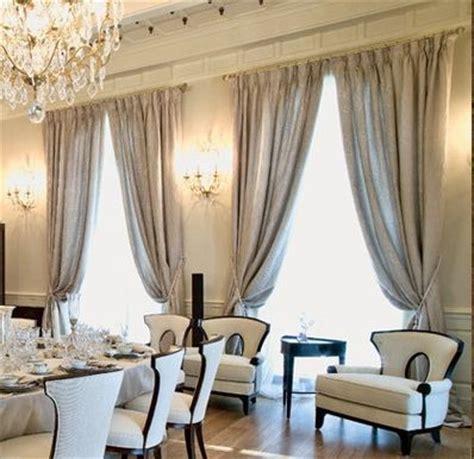 elegant drapes  curtains window treatment ideas
