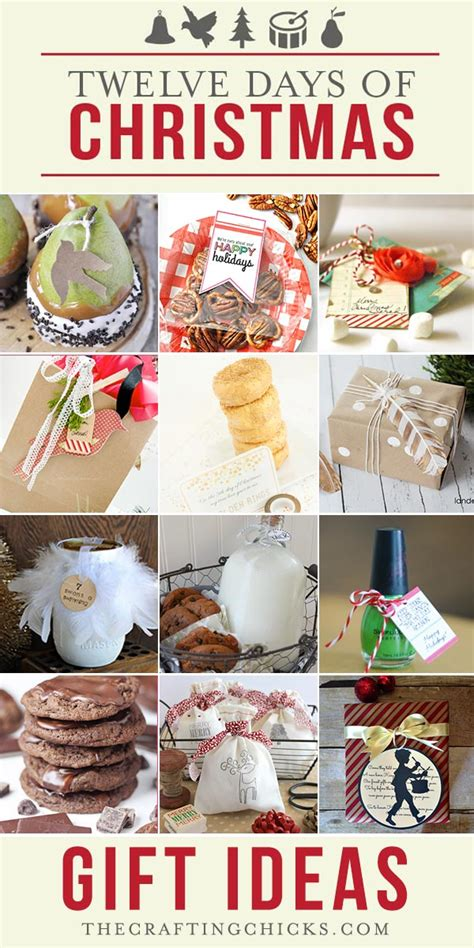 12 days of christmas gift ideas part 1 the crafting chicks