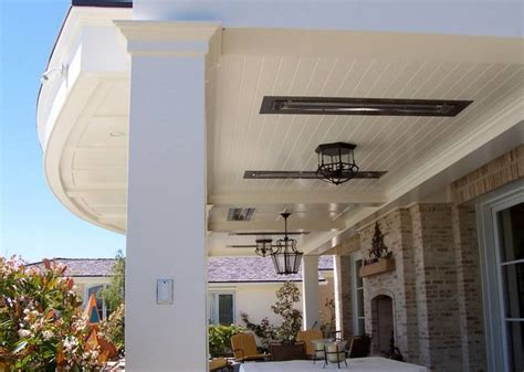 flush mounted infrared patio heaters