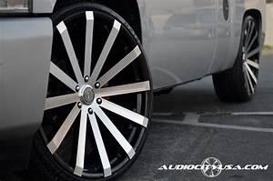 22 U0026quot  Velocity Wheels Vw12 Black Machined Rims  Vc017