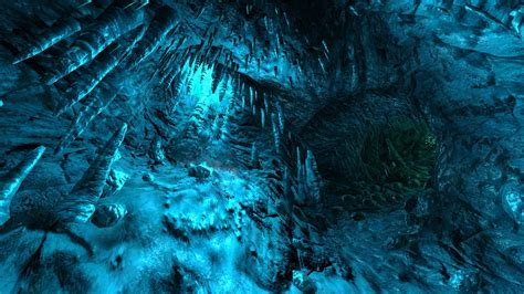 wallpapers marble caves 4k blue water cliffs