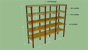 How to build storage shelves HowToSpecialist - How to