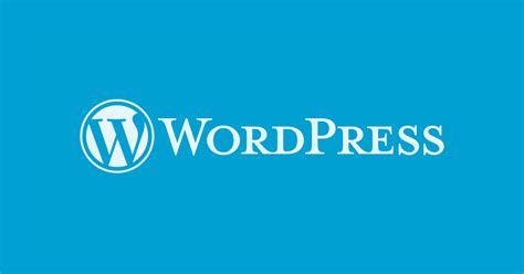 Blog — Wordpress