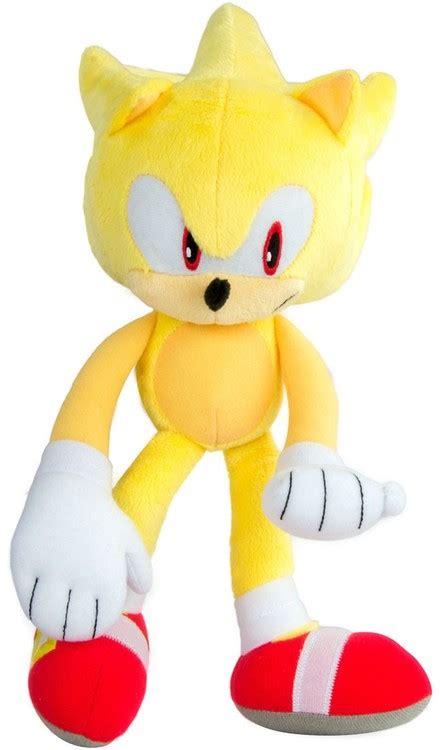 Sonic The Hedgehog Super Sonic 12 Deluxe Plush Modern TOMY ...