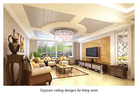 51 Gypsum Ceiling Designs For Living Room Ideas 2016