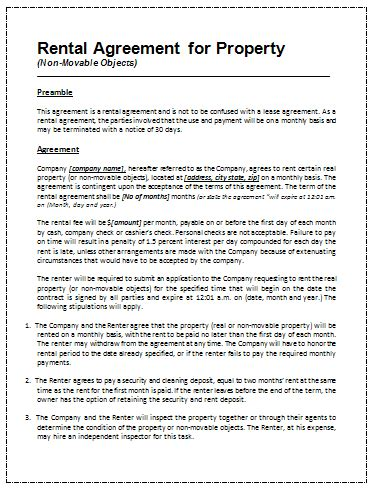 Office Space Rental Agreement by Printable Sle Rental Agreement Template Office