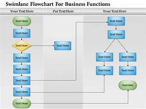 0814 Business Consulting Diagram Swimlane Flowchart For
