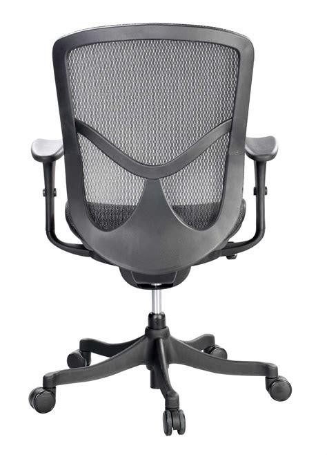 eurotech fuzion mesh back ergonomic chair fuz5b lo ergohuman