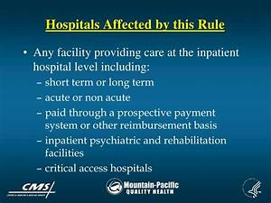 PPT - Notification of Hospital Discharge Appeal Rights ...