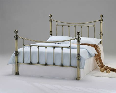 Brass Headboards For King Size Beds by Antique Vintage Brass Metal Bed Shabby Chic