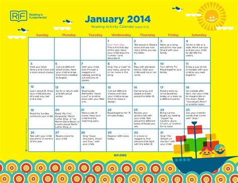 pre monthly homework calendars