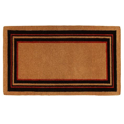 24 x 36 doormat home more esquire 24 in x 36 in door mat 180062436np