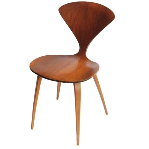 plycraft wood chair by norman cherner for sale at 1stdibs