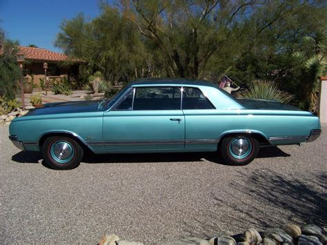 1965 OLDSMOBILE CUTLASS HOLIDAY 2 DOOR HARDTOP - 116201