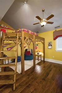 Lit Fille Original : lit mezzanine pour une chambre d ado originale design feria ~ Teatrodelosmanantiales.com Idées de Décoration