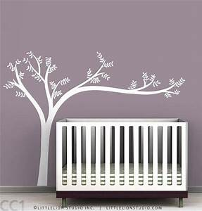 wall decal best 20 white tree decal for nursery wall With white wall decals