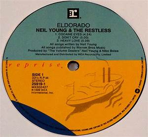 Neil Young & The Restless – Eldorado mini album on vinyl ...