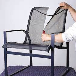 sling chair replacement fabric outdoor furniture folding