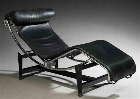 bureau 120 cm chaise longue design italien en cuir le corbusier lc4