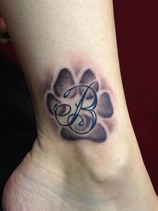 Paw Print Tattoos Designs, Ideas and Meaning   Tattoos For You