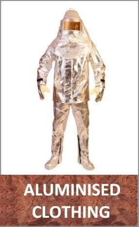 foundry response  furnace protective clothing  footwear