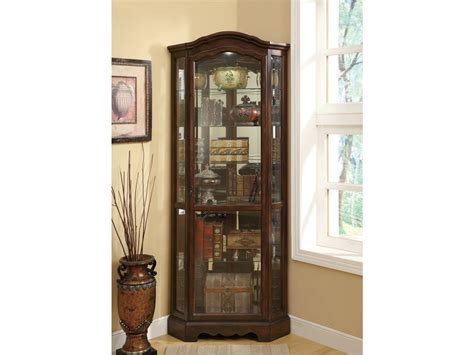 Coaster Curio Cabinet by Coaster Living Room Curio Cabinet 950175 Winner