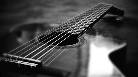 black and white black and white guitar