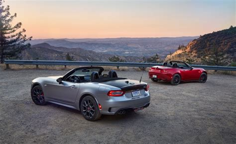 fiat  spider abarth   mazda mx  miata club