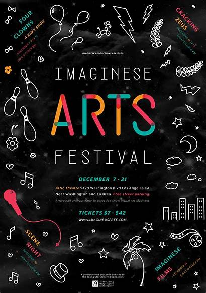 Flyer Festival Poster Arts Flyers Event Background