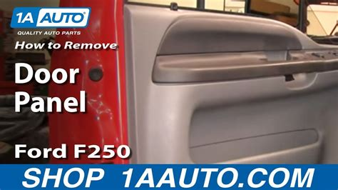 install replace remove door panel ford