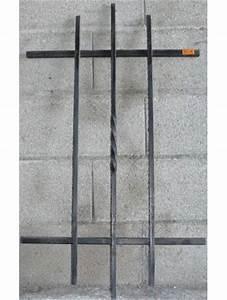 Grille De Defense Pour Fenetre : grille de defense droite pour fenetre haureur 95 x largeur ~ Dailycaller-alerts.com Idées de Décoration